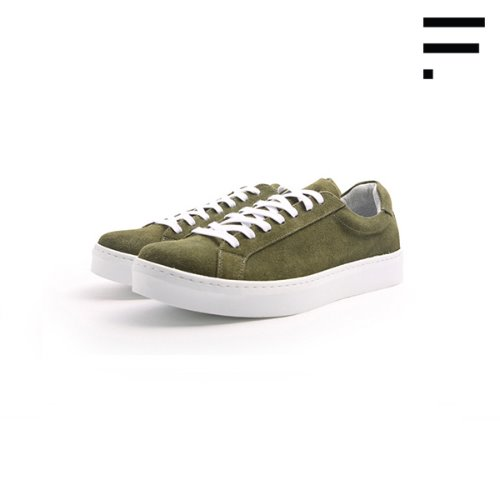[MAN] De Gas Suede / Olive[Order Made]