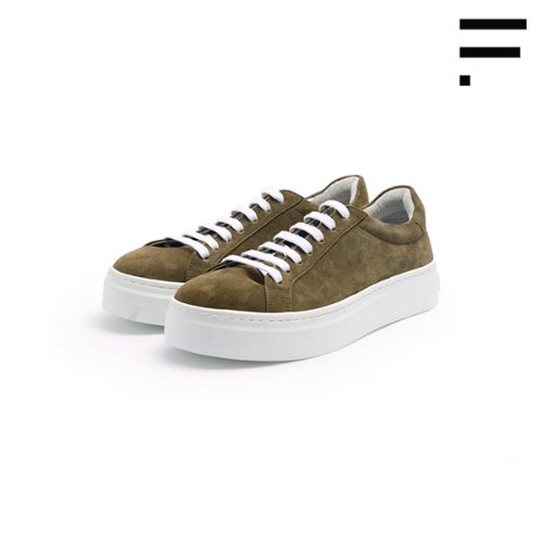 [WOMAN] De Gas Suede /Olive