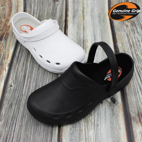 Style 3900 Clogs (Black/White)
